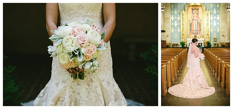 White and blush summer wedding flowers dallas texas