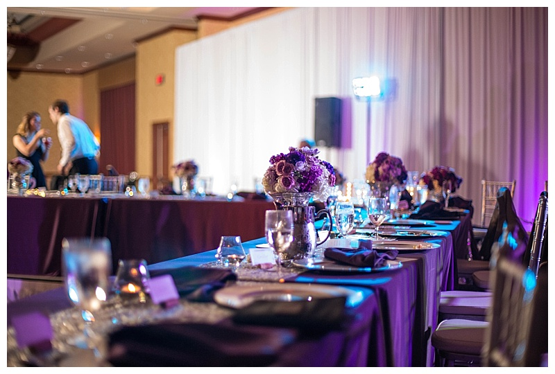 Purple Dallas Wedding Flowers