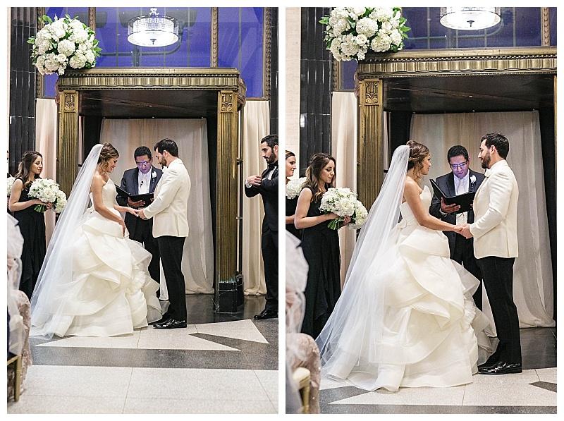 neutral downtown dallas wedding flowers