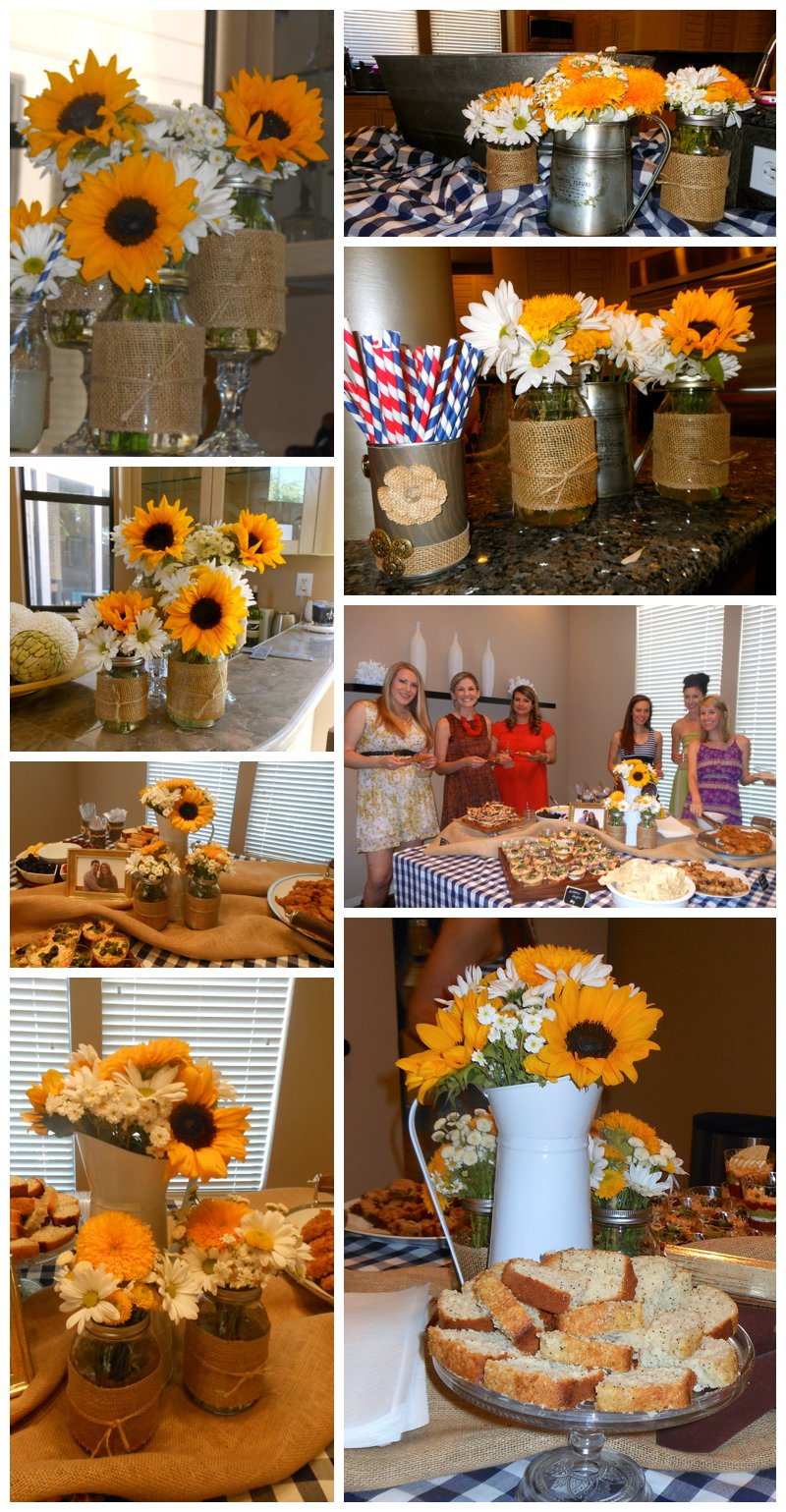 Country Themed Wedding.A L Floral Design Texas Country Themed Wedding Shower Dallas