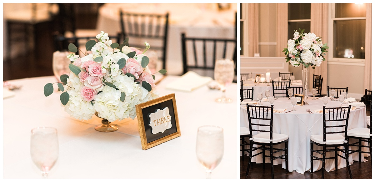 Timeless classic ivory and blush dallas wedding flowers